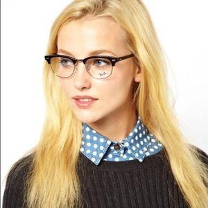 Ray Ban Clubmaster Optics women eyeglasses